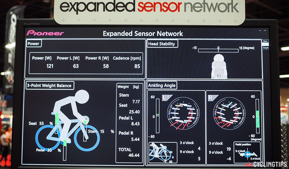 pioneer expanded sensor network software InterBike 2016 CyclingTips 43087