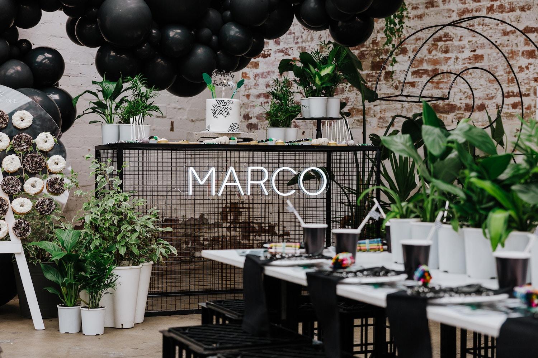 MARCO'S URBAN JUNGLE 3RD BIRTHDAY