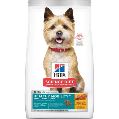 Hills Hill's Science Diet Healthy Mobility Small Bites Adult Chicken Dry Dog Food