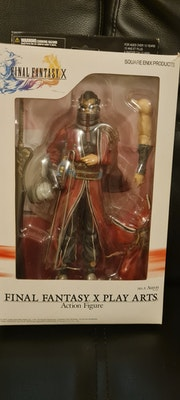 Final Fantasy X Auron figurine