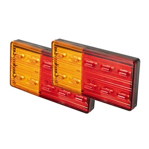 LIGHTFOX LIGHTFOX Pair LED Trailer Tail Lights