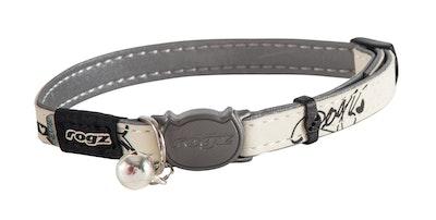 Rogz Glowcat Safeloc Collar Black Jumpin
