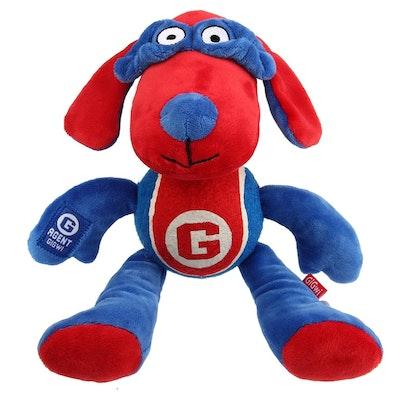 GIGWI Agent Dog Plush With Tennis Ball