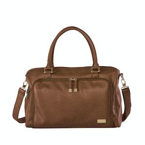 Isoki Redwood Double Zip Satchel Bag