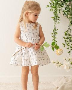 Certified Organic Cotton Sweetheart Dress