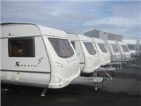 Barrons are distributors for Geist with a full range of Xklusiv & Aktiv caravans
