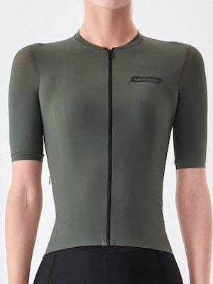Soomom Women's Essential Cycling Jersey - Sage