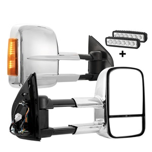 SAN HIMA SAN HIMA Pair Towing Mirrors Extendable for Holden Colorado 7 2012-2016 NEW