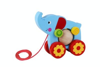 Tooky Toy PULL ALONG-ELEPHANT