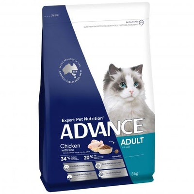 Advance Total Wellbeing Adult Chicken Dry Cat Food 3kg