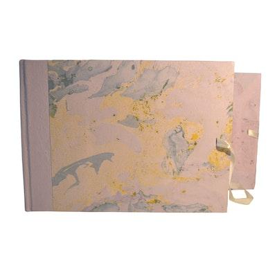GETScrapping Luxury Handmade DIY Scrapbook Photo Album - Mystical Purple