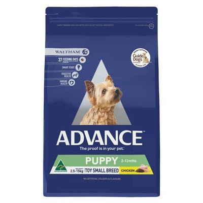 Advance  Puppy Plus Toy and Small Breed  Chicken  Dry Puppy Food