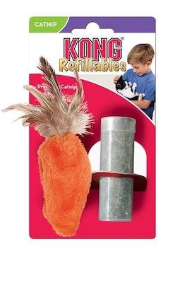 KONG Cat Dr Noys Feather Top Carrot