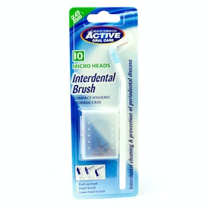 Beauty Formulas Interdental Brush Dental Care 0.45mm 10 Micro Heads