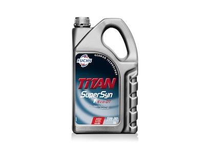 Fuchs Titan Supersyn F Eco-DT SAE 5W-30 5L Pack Ultra High Performance Engine Oil