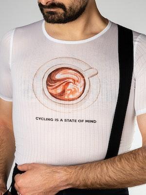 Twenty One Cycling Factory Lightweight base layer - Coffee - Men
