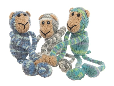 Happily Made Magnetic Monkeys