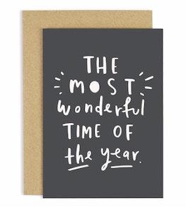 Most Wonderful year Christmas Card