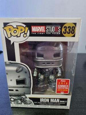 Iron Man Mk1 #338 2018 Summer Con Funko Pop - Iron Man