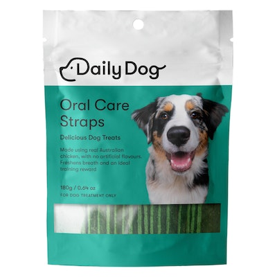 Daily Dog Oral Care Straps