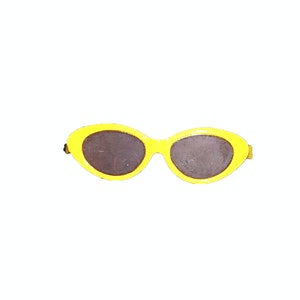 Designed by Florence Tinko Sunglasses Yellow