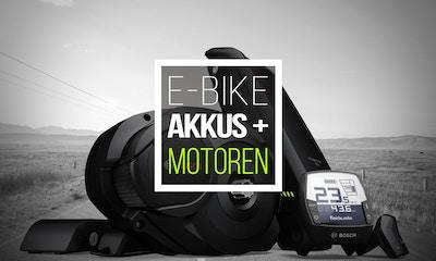 E-Bike Akkus & Motoren: Die wichtigsten Infos zum Antrieb