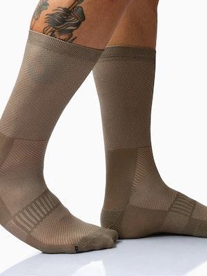Twenty One Cycling Factory Lightweight Socks - BurlyWood - Unisex