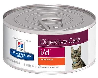 Hill's VET Hill's Prescription Diet I/D Digestive Care Wet Cat Food 156G