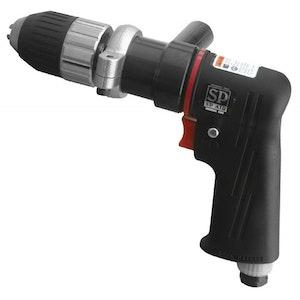 "Air Drill 1/2""Dr Composite Reversible Keyless Chuck SP-7527KL"