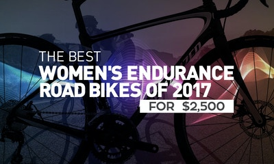 Best Women's Endurance Road Bikes of 2017 for $2,500