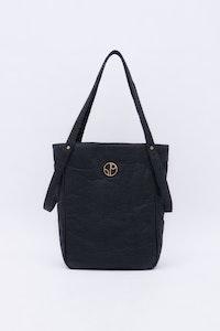 1 People Tokyo Piñatex® Tote Bag in Truffle Black