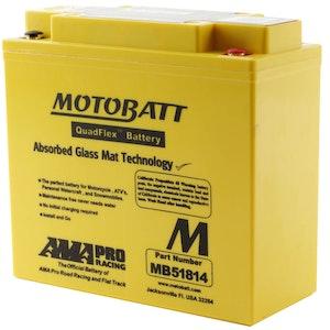 MB51814 MotoBatt Quadflex 12V Battery