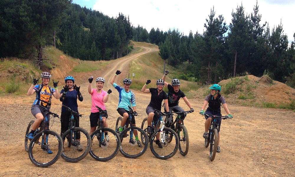 women s mtb ride group