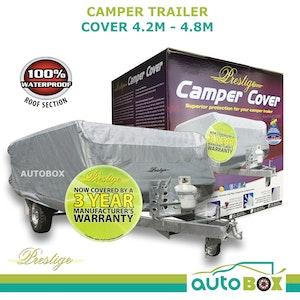 Prestige CAMPER TRAILER COVER 4.2 - 4.8m WATERPROOF CARAVAN CAMPING OUTDOOR HOME