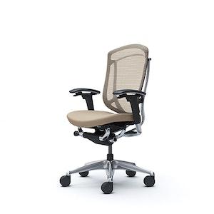 PRE ORDER - Contessa Seconda Leather Chair - Gold Spec