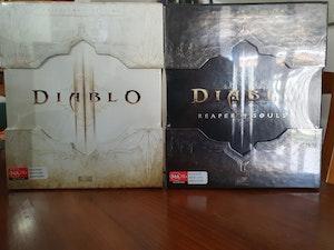 Diablo 3 Collector's Edition PC & Diablo 3 'Reaper of Souls' Expansion Collector's Edition PC