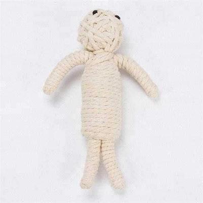 DoggyTopia Halloween Mummy Rope Dog Toy