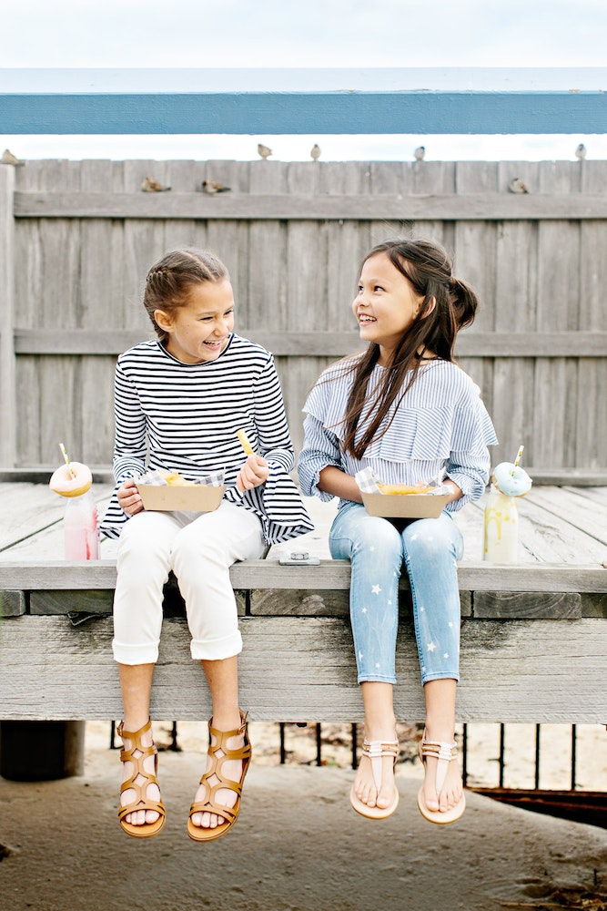LENZO Betts Kids Summer Shoes Campaign