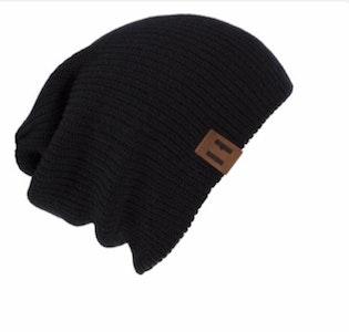Beau Hudson Black Knit Beanie