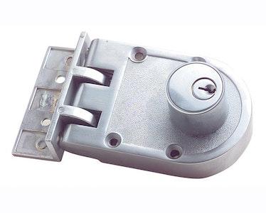 RiteFit N205SC Double Cylinder Deadlock Satin Chrome Plate