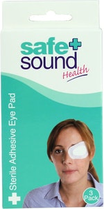 Safe + Sound Sterile Adhesive Eye Pad