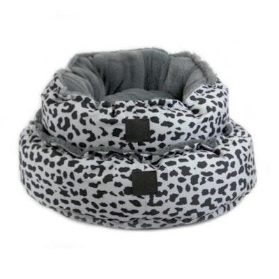 T&S Snug Bed Grey Leopard