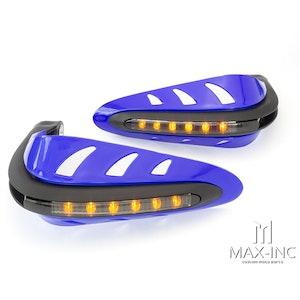 Blue Handguards - Amber LED