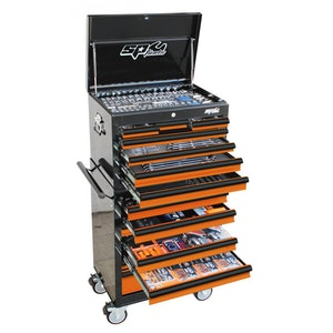 SP50164OR Tool Kit 506 Piece Metric/SAE Custom Series BLACK/ORANGE SP50164OR