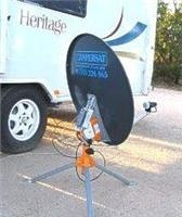 Campersat controls are easy to use