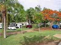 Charters Towers Top Tourist Park asked  us to a family barbecue