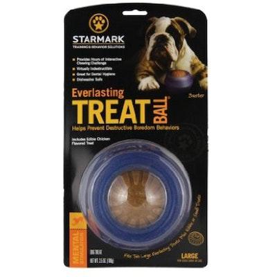 Starmark Everlasting Treat Ball Dog Chew Toy - 3 Sizes