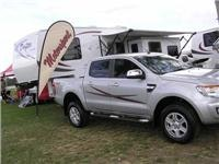 New Ford Ranger hauls 5th wheeler 150