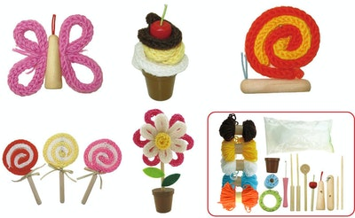 Kaper Kidz DIY CRAFTS-KNITTING SET