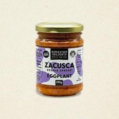 Romanian Delights Zacusca Eggplant